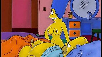 sex Marge simpson having