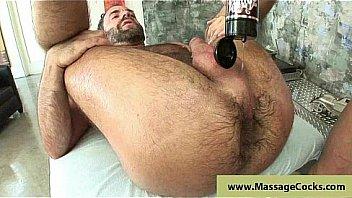 Massagecocks massage and groping