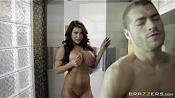 Brazzers - August Taylor gets pounded in the shower
