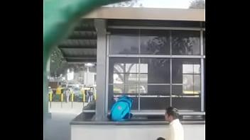 delhi ina metro back side