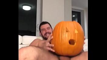 Male Fucking Pumpkin