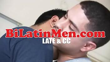 Gay Hat Latin Blowjob