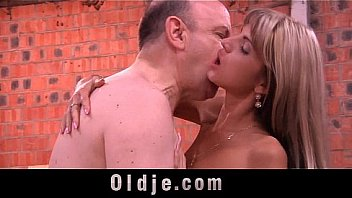 oldman with gross dick penetrates young girl 039 s arse