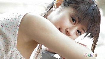 Fresh Japanese girl cameltoe panty teasing