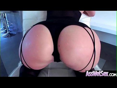 Bug Butt Girl (AJ Applegate) Get Oiled And Hard Deep Anal Banged vid-03