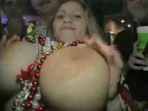 nude boobs mardi gras