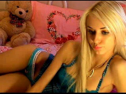 Webcam Blonde Fuck Machine