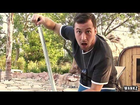 WANKZ- Pool Guy Leaves Huge Creampie Inside Kacy Lane