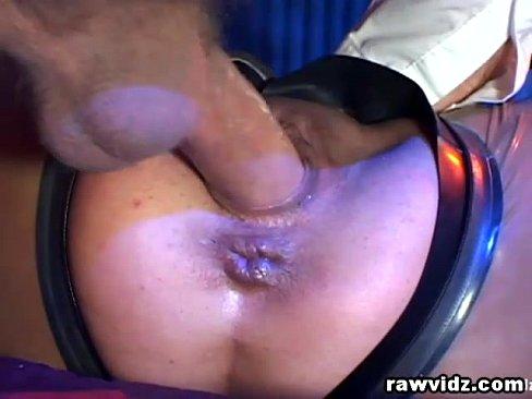 Gagging anal banging