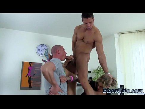 Bisex Hunk Tugs Cumshot