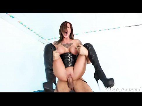 Sexy sub puta porno de chicas Chantelle Fox anhela gran polla dura