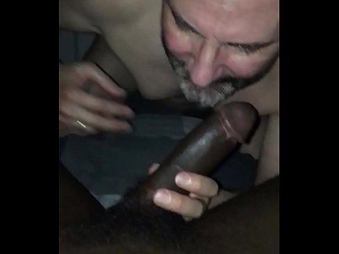 Black Mom Sucking Son Dick