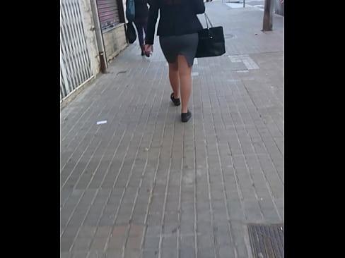 Skirt sexy fat ass chic