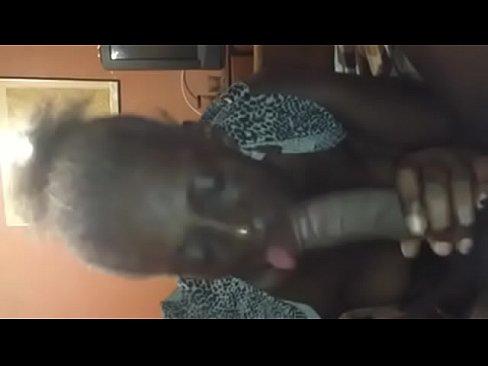 Ebony Car Blowjob Swallow