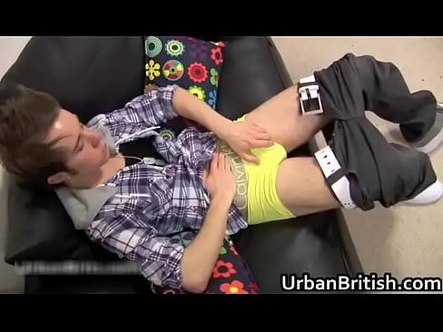 Hot Teen Dude Gets His Fine Jizzster Jerked
