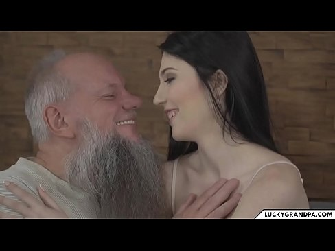 Horny Old Man Fucks Young Girl