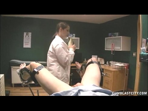 Doctor Gets Blasted With Cum
