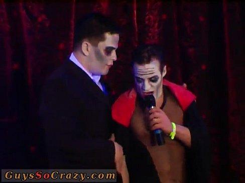 Gay orgie video bi Sex Trio Porn