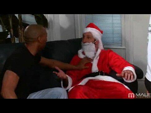 Gay Santa Claus seks