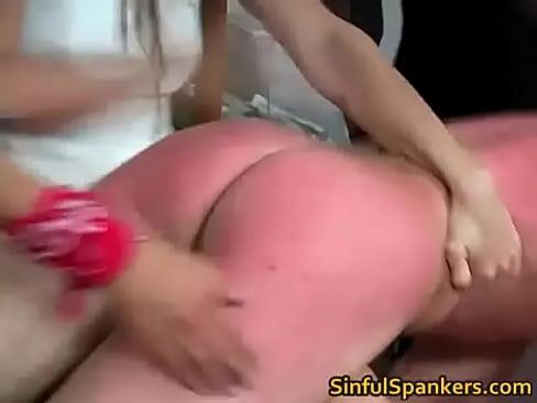 spanking gay hard