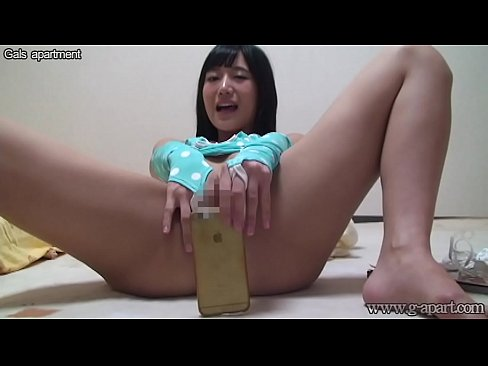 Japanese Teen Anal Dildo
