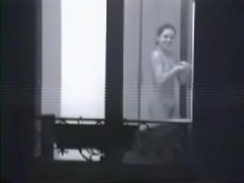 Flashing window girls in