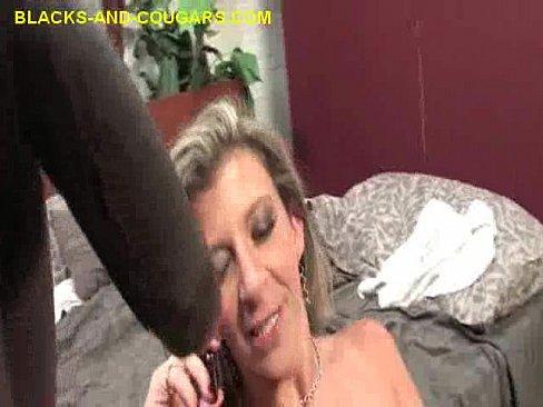 Mouthful Of Black Cum