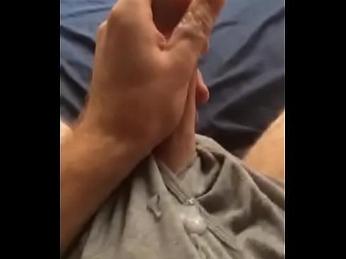Cumming on my boxers