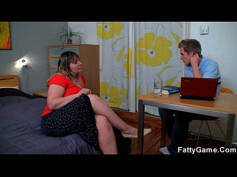 BBW seduce a su psicologo