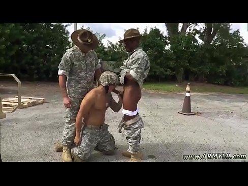 Black army men