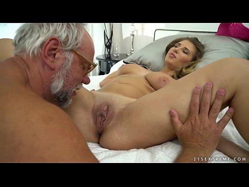 Chubby babe on grandpa dick - Aida Swinger