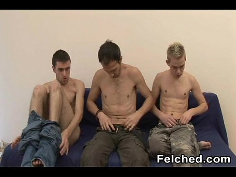 Fresh double felching gays anal creampie dumper