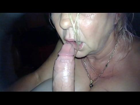 tubes job Granny blow