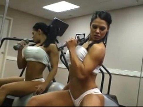 Abs big perfect fake tits