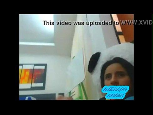 Cute teen lesbians girls on webcam but not