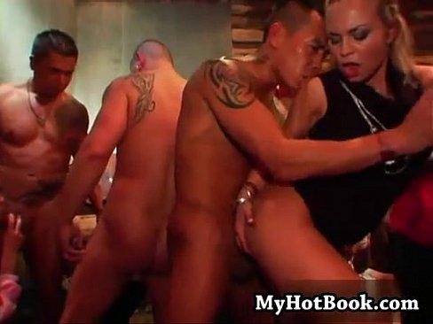 Insde an orgy