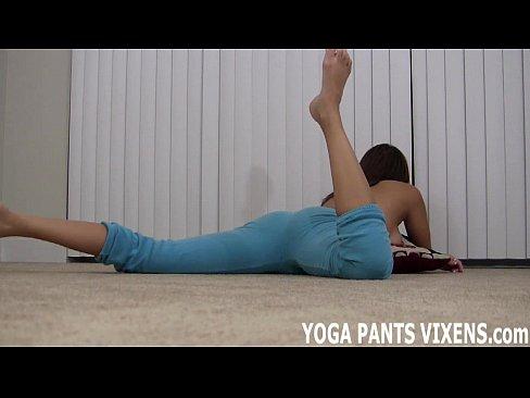 Yoga jerk off