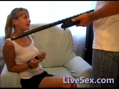 Hostage blowjob