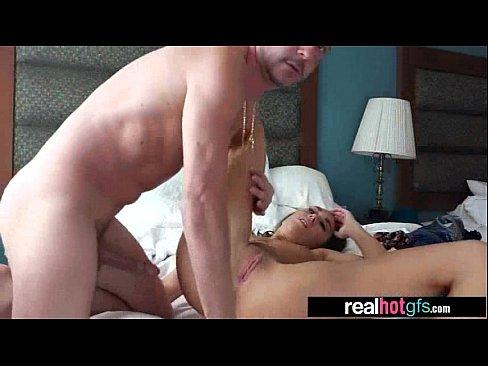 Real Naughty Sexy GF (london lynn) Perform In Amazing Sex Scene clip-07