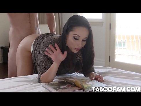 Hot MILF Crystal Rush Lets Stepson Tyler Nixon Fuck Her, free sex video