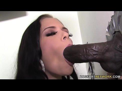 at gloryhole cock Pierced