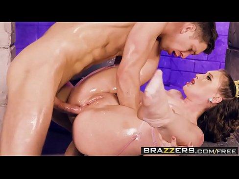 Big Wet Butts - La Princess Peach UN XXX la Parodie de la scene mettant en vedette Harley Jade Markus Dupree