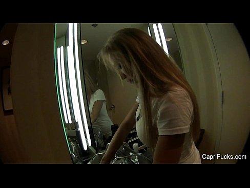 Capri Cavanni Behind The Scenes
