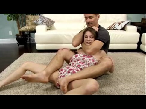 Dad Teaches Daughter Anal