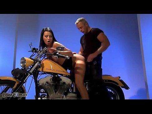 Slutty biker