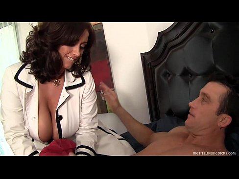 Big tits getting cummed on