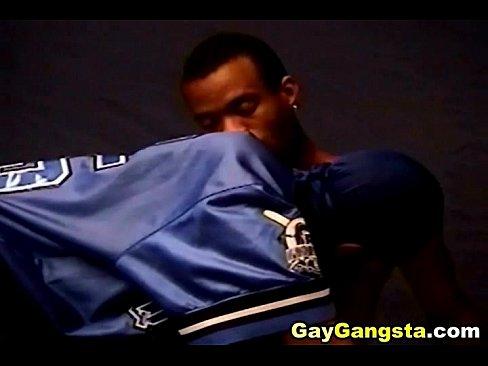 Black Ghetto Gangster Having Some Hard Fuck