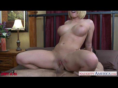 Busty blonde Krissy Lynn fucking