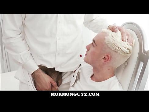 Young Blonde Mormon Boy Clarke Seduced By Church President Lewis