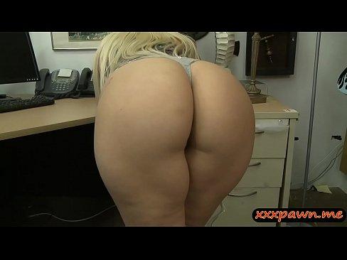 Sexy pantyhose teasing her boss